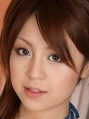 Hot Nanami Takase shows her boobies