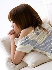 Rika Yuuki hot Asian teen model is perfect