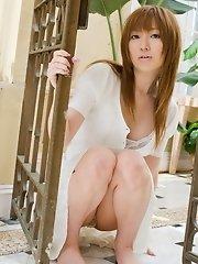 Pretty Asian whore has a really nice body