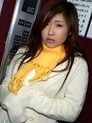 Asian model Mrano enjoys sexy poses