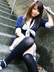 Slutty Kiyohara only looks innocent and sweet