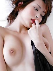 Nasty Nana enjoys teasing the guys with tits