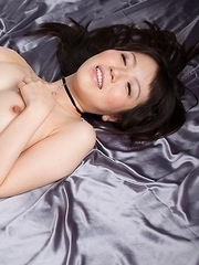 Perfect JAV babe Yuma Miyazaki using her feet to get this dude off for good
