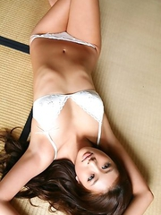 Sayaka Ando is extremely fascinating in sexy lingerie