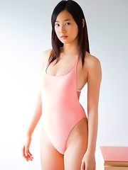 Kaho Takashima with big cans in white bra is sexy outdoor