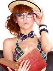 Maomi Yuuki is very sexy and naughty teacher in lingerie