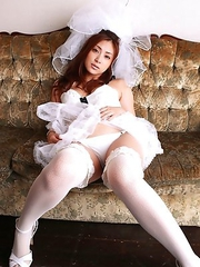Natsuko Tatsumi is the sexiest and kinkiest bride ever
