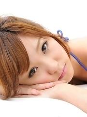 Ichika Nishimura will be the hottest nymphet on the beach